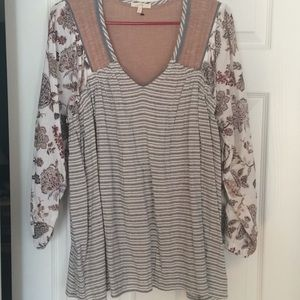 Boho top - new without tags